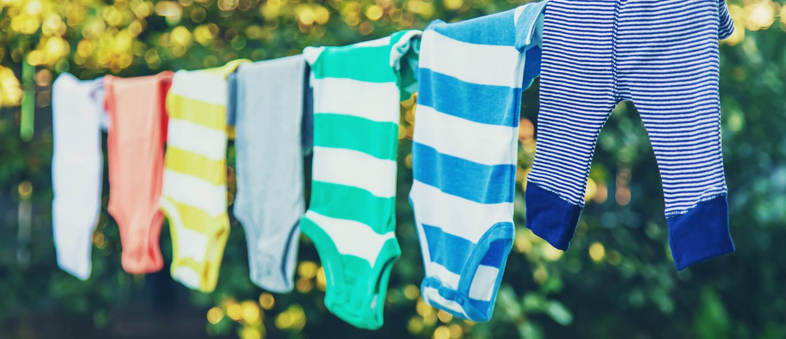wash you clothes and air dry them so that they last longer