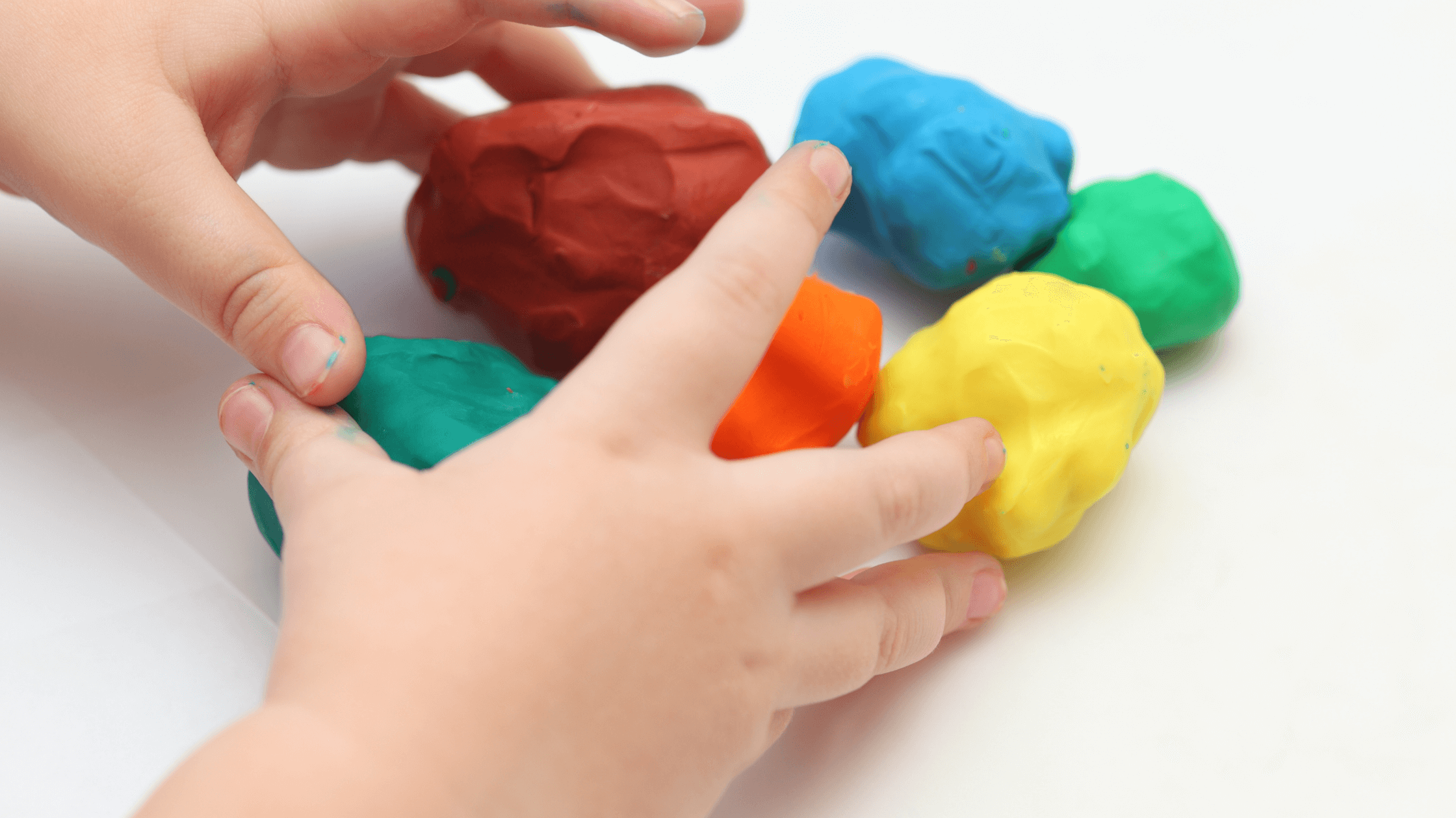 learning through play (play dough)